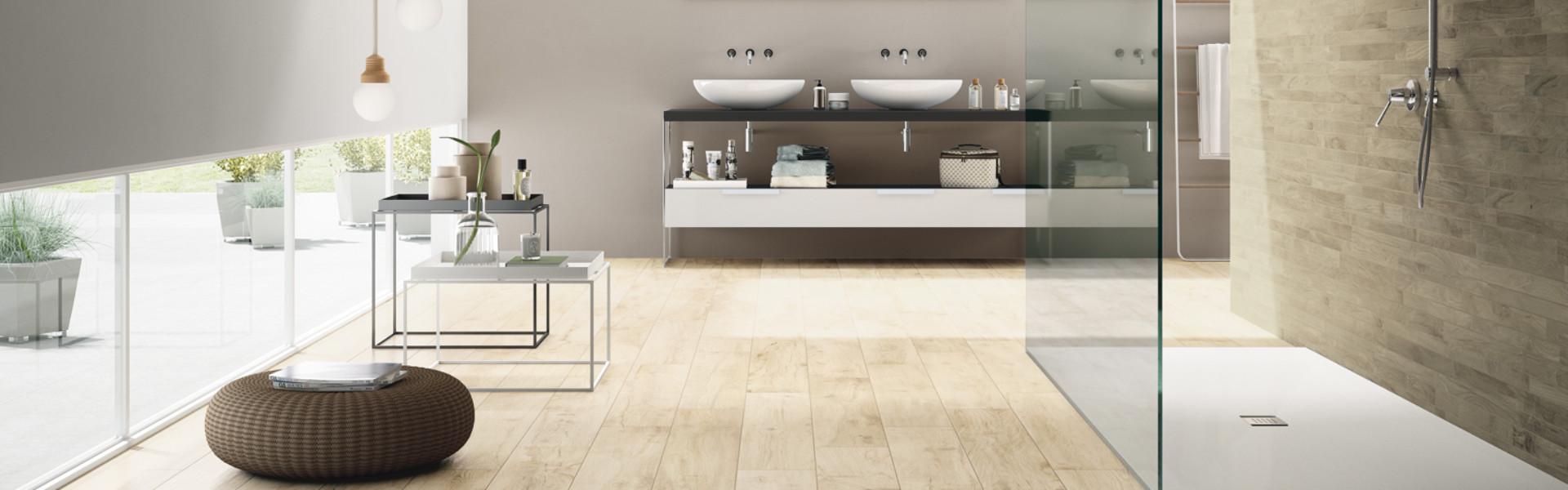 Castelvetro_2014_Woodland 20x120 Almond+Multistick Maple_01_Bagno_Definitivo NEW.tif